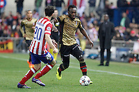 Milan´s Michael Essien during 16th Champions League soccer match at Vicente Calderon stadium in Madrid, Spain. January 06, 2014. (ALTERPHOTOS/Victor Blanco)