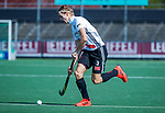 AMSTELVEEN - Charlie Plomp (Adam)   tijdens  de hoofdklasse competitiewedstrijd hockey heren,  Amsterdam-SCHC (3-1).  COPYRIGHT KOEN SUYK