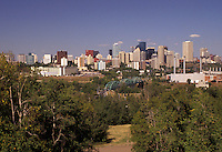 AJ3630, Edmonton, Alberta, Canada, Skyline of downtown Edmonton in the province of Alberta.