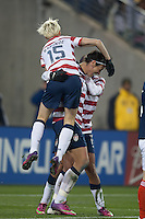 Nashville, Tennessee - Wednesday, Feb. 13, 2013: The USWNT defeated Scotland 3-1 at LP Field.