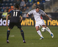 Andy Dorman.  The Philadelphia Union defeated the New England Revolution, 1-0, at PPL Park in Chester, PA.