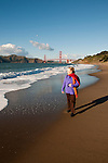 Baker Beach, Golden Gate Bridge, San Francisco, California, USA.  Photo copyright Lee Foster.  Photo # california108679