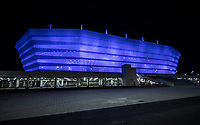 May 30th 2018, KALININGRAD, Russia; The outside view of Kaliningrad Stadium which will host the 2018 World Cup matches in Kalininggrad, Russia.