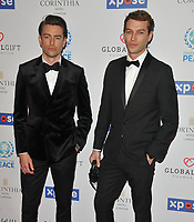 Colin Dack and Josh Parkinson at the Football For Peace Initiative Dinner by Global Gift Foundation, Corinthia Hotel, Whitehall Place, London, England, UK, on Monday 08th April 2019.<br /> CAP/CAN<br /> &copy;CAN/Capital Pictures