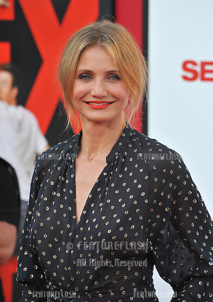 Cameron Diaz at the world premiere of her movie &quot;Sex Tape&quot; at the Regency Village Theatre, Westwood.<br /> July 10, 2014  Los Angeles, CA<br /> Picture: Paul Smith / Featureflash