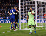 Manchester City's Sergio Aguero looks on dejected after he put an easy chance over the bar<br /> <br /> Barclays Premier League- Leicester City vs Manchester City - King Power Stadium - England - 29th December 2015 - Picture - David Klein/Sportimage