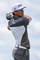 Rafael Cabrera Bello (ESP) watches his tee shot on 7 during Saturday's round 3 of the 117th U.S. Open, at Erin Hills, Erin, Wisconsin. 6/17/2017.<br /> Picture: Golffile | Ken Murray<br /> <br /> <br /> All photo usage must carry mandatory copyright credit (&copy; Golffile | Ken Murray)