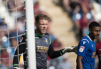 Dean Gerken of Colchester United during Colchester United vs Northampton Town, Sky Bet EFL League 2 Football at the JobServe Community Stadium on 24th August 2019