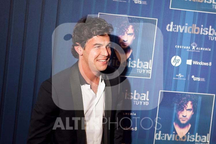 Spanish actor Mario Casas attends David Bisbal´s new music album premiere photocall at Callao cinema in Madrid, Spain. March 17, 2014. (ALTERPHOTOS/Victor Blanco)