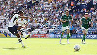 Preston North End's Daniel Johnson scores the opening goal from the penalty spot<br /> <br /> Photographer Rich Linley/CameraSport<br /> <br /> The EFL Championship - Preston North End v Sheffield Wednesday - Saturday August 24th 2019 - Deepdale Stadium - Preston<br /> <br /> World Copyright © 2019 CameraSport. All rights reserved. 43 Linden Ave. Countesthorpe. Leicester. England. LE8 5PG - Tel: +44 (0) 116 277 4147 - admin@camerasport.com - www.camerasport.com