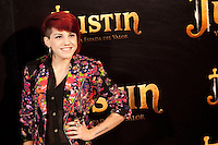 "Singer Angie during ""Justin And The Knights Of Valour"" film presentation in Spain, in Villaviciosa de Odon castle, in Madrid, Spain. September 11, 2013. (Alterphotos/Victor Blanco) /nortephoto.com"
