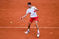 Novak Djokovic (Serbia) during Day 4 for the French Open 2018 on May 30, 2018 in Paris, France. (Photo by Baptiste Fernandez/Icon Sport)