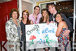 Supporting their girl Oonagh Groves who represented Carrraig Donn at the 2008 Kerry Rose Selection in The Earl of Desmond Hotel on Saturday night were l/r Brid O'Callaghan, Helen O'Sullivan, John O'Callaghan, Mari Morris, Nick O? hEocha and Ciara Ni? Laoire........   Copyright Kerry's Eye 2008