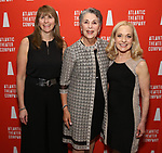 """Emily Tow Jackson, Carol Auerbach and Vicki Reiss attends the Atlantic Theater Company """"Divas' Choice"""" Gala at the Plaza Hotel on March 4, 2019 in New York City."""