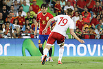 Spain's David Silva and Georgia's Kobakhidze during the up match between Spain and Georgia before the Uefa Euro 2016.  Jun 07,2016. (ALTERPHOTOS/Rodrigo Jimenez)