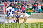Donnchadh Walsh in action against Waterford last Saturday in Fitzgerald Stadium for the Munster GAA football championship
