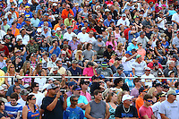 Mar 20, 2016; Gainesville, FL, USA; NHRA fans in the crowd and grandstands during the Gatornationals at Auto Plus Raceway at Gainesville. Mandatory Credit: Mark J. Rebilas-USA TODAY Sports