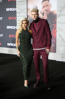 WESTWOOD, CA - DECEMBER 13: Bebe Rexha, Machine Gun Kelly, at Premiere Of Netflix's 'Bright' at The Regency Village Theatre, In Hollywood, California on December 13, 2017. Credit: Faye Sadou/MediaPunch /NortePhoto.com NORTEPHOTOMEXICO