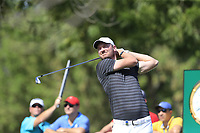 Chris Wood (ENG) during the 1st round of the DP World Tour Championship, Jumeirah Golf Estates, Dubai, United Arab Emirates. 15/11/2018<br /> Picture: Golffile | Fran Caffrey<br /> <br /> <br /> All photo usage must carry mandatory copyright credit (&copy; Golffile | Fran Caffrey)
