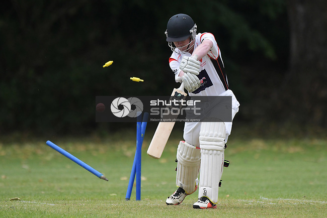 NELSON, NEW ZEALAND - TPL Cricket - ACOB v Stoke/Nayland. Botannics, Nelson, New Zealand. Saturday 17 November 2018. (Photo by Chris Symes/Shuttersport Limited)