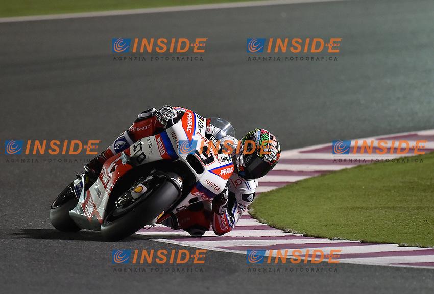 Losail (Qatar) 17-03-2016 - prove libere Moto GP - free practice - Qatar  / foto Luca Gambuti/Image Sport/Insidefoto<br /> nella foto: Danilo Petrucci