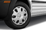 Tire and wheel close up detail view of a 2010 Ford Transit XL Wagon