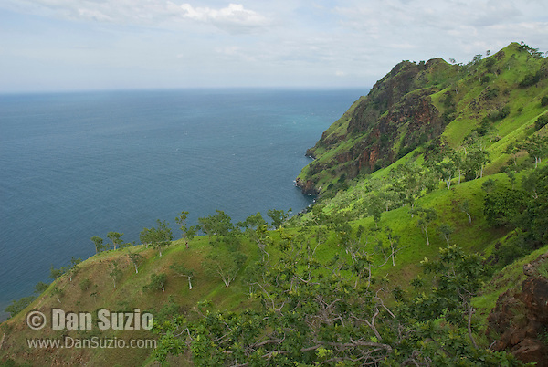 North coast of Manatuto District, Timor-Leste (East Timor).