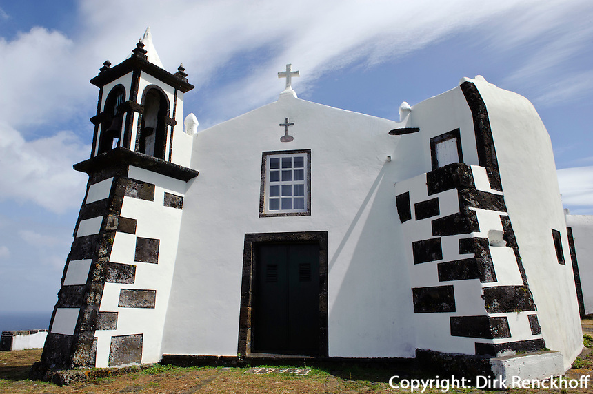Ermida auf Monte da Ajuda auf der Insel Graciosa, Azoren, Portugal