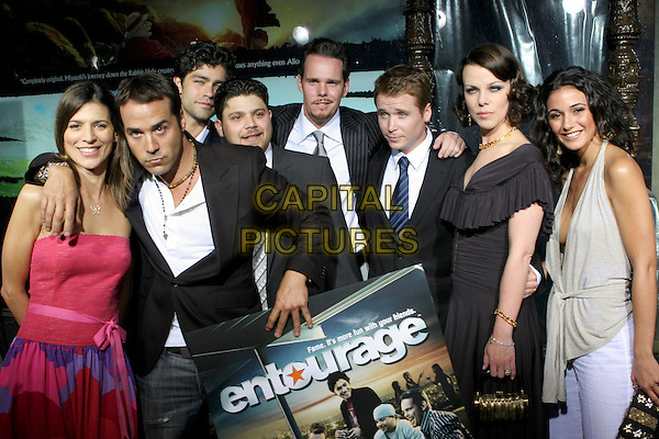 CAST OF ENTOURAGE.Premiere of HBO's series ENTOURAGE held at the El Capitan Theater, Hollywood, California.May 25th, 2005.Photo Credit: Zach Lipp/AdMedia.half length.www.capitalpictures.com.sales@capitalpictures.com.© Capital Pictures.