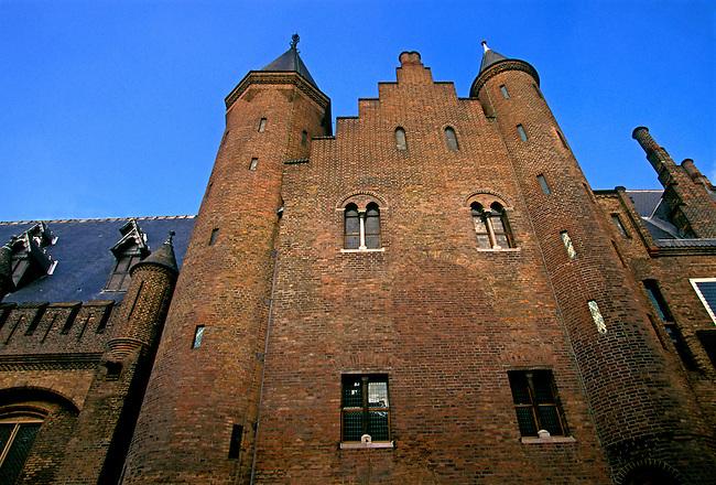 Knights Hall (Ridderzaal) at Binnenhof, The Hague (Den Haag), Holland, Netherlands, Europe