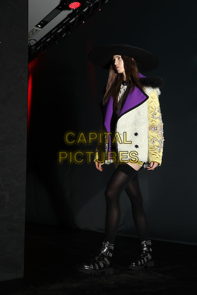 FAUSTO PUGLISI<br /> at Milan Fashion Week FW 17 18<br /> in Milan, Italy  February 2017.<br /> CAP/GOL<br /> &copy;GOL/Capital Pictures