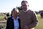 Seapoint Mens captain Sean McCormack and his wife Phill at the Captains Drive at Seapoint golf club..Picture: Newsfile