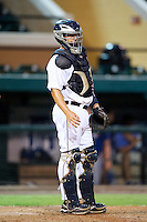 GCL Tigers Tim Remes #19 during a Gulf Coast League game against the GCL Blue Jays at Joker Marchant Stadium on July 16, 2012 in Lakeland, Florida.  GCL Blue Jays defeated the GCL Tigers 4-3.  (Mike Janes/Four Seam Images)