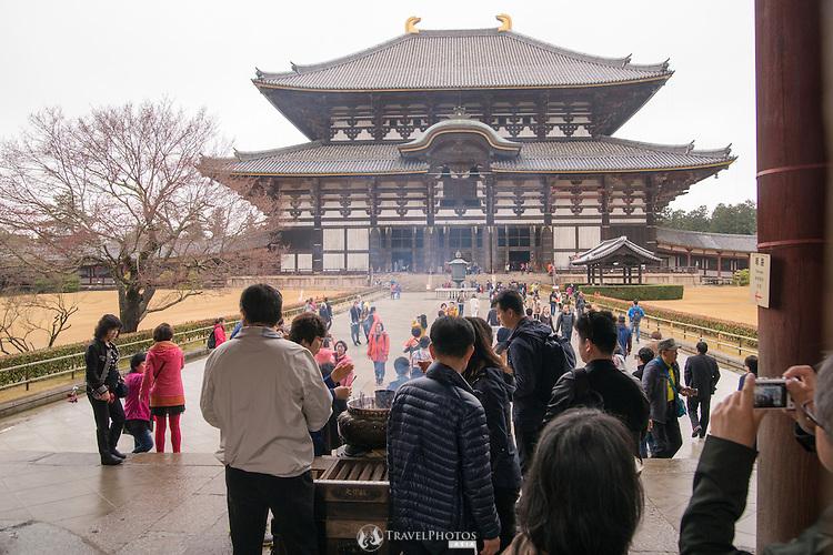 Todaiji Temple with the Daibutsu inside.