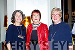 Angela O'Connor, Kathleen Galway and Mary O'Connor at the Killlarney Rotary club charity fashion afternoon tea show in the Great Southern Hotel on Saturday