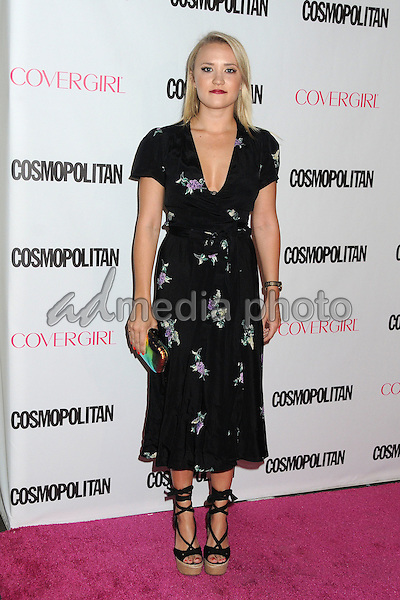 12 October 2015 - Hollywood, California - Emily Osment. Cosmopolitan 50th Birthday Celebration held at Ysabel. Photo Credit: Byron Purvis/AdMedia