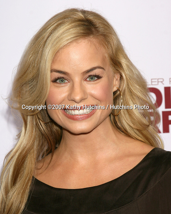 "Jessica Collins.""Why Did I Get Married?"" - LA Premiere.Cinerama Dome at the ArcLight Theaters.Los Angeles,  CA.October 4, 2007.©2007 Kathy Hutchins / Hutchins Photo...               ."