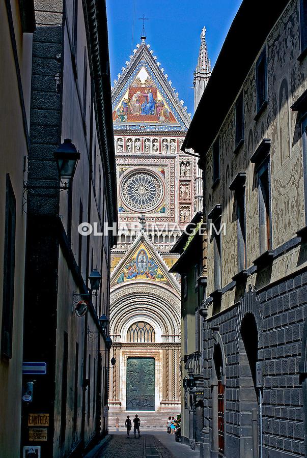 Duomo de Orvieto. Umbria. Itália. 2006. Foto de