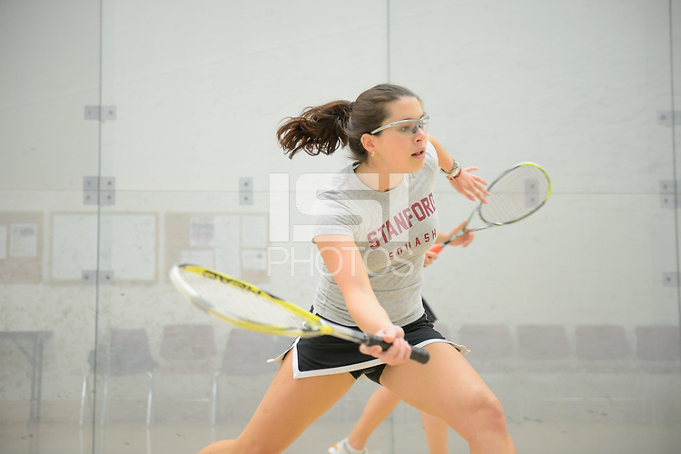 Stanford, California, 12-04-2013- Julia Olson of Stanford Squash 2013.