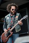 David Finner of Scorpion Child performs during the 2013 Rock On The Range festival at Columbus Crew Stadium in Columbus, Ohio.