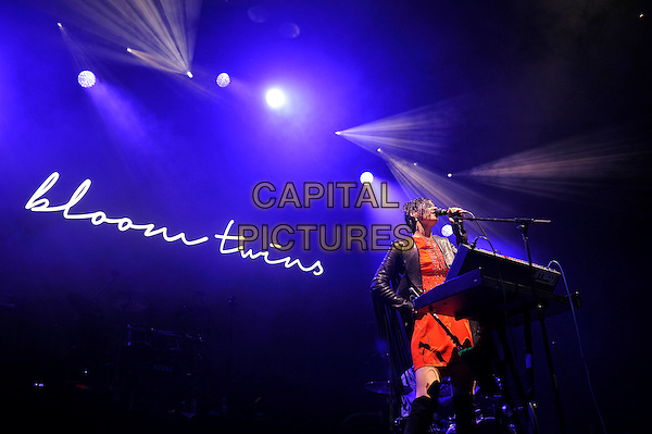 LONDON, ENGLAND - DECEMBER 8: Sonya Kupriienko of 'Bloom Twins' performing at O2 Arena on December 8, 2015 in London, England.<br /> CAP/MAR<br /> &copy; Martin Harris/Capital Pictures