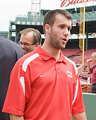 Andrew Glass (Boston University - player) - A press conference hosted by the Hockey East Association, the Boston Red Sox and Fenway Sports Group was held on Thursday, August 20, 2009, at Fenway Park in Boston, MA, to announce that there would be a Hockey East college hockey doubleheader on Friday, January 8, 2010, held on the ice that will be used for the January 1, 2010 NHL Winter Classic.  The afternoon (4:00 pm EST) match will be between the Northeastern University Huskies (home team) and University of New Hampshire Wildcats women's teams while the evening (7:30 pm EST) match will be between the Boston College Eagles (home team) and the Boston University Terriers men's teams.