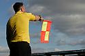 Off-side flag. Stevenage v Scunthorpe United - npower League 1 -  Lamex Stadium, Stevenage - 6th October, 2012. © Kevin Coleman 2012