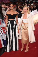 Alesha Dixon and Amnda Holden<br /> arrives to film for &quot;Britain's Got Talent&quot; 2017 at the Palladium, London.<br /> <br /> <br /> &copy;Ash Knotek  D3222  29/01/2017