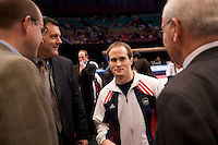 Photo by John Cheng - Tyson American Cup 2008 in Madison Square Garden, New York.Important People