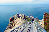 Point Reyes Lighthouse (built 1870) in Point Reyes National Seashore, California, USA