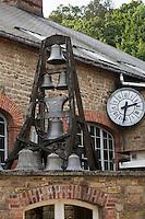 Europe/France/Normandie/Basse-Normandie/50/Villedieu-les-Poêles: Fonderie de cloches Cornille-Havard // France, Manche, Villedieu les Poeles, Cornille Havard bells foundry