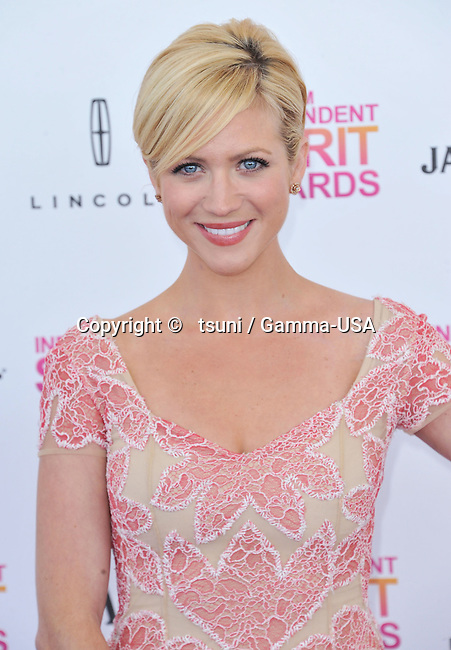 Brittany Snow _263  arriving at the 28th annual Film Independent Spirit Awards in Santa Monica.