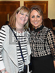 Lisa Martin and Lyndsey McHugh pictured at the Keane On Style event at City North hotel. Photo:Colin Bell/pressphotos.ie