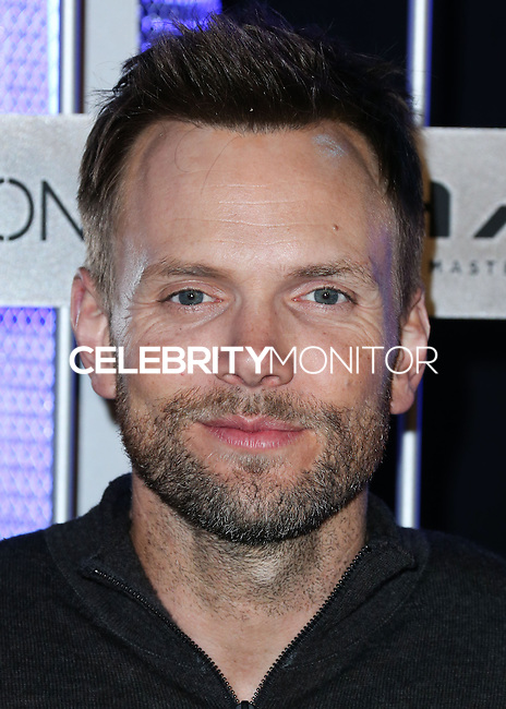 HOLLYWOOD, LOS ANGELES, CA, USA - NOVEMBER 10: Joel McHale arrives at the HaloFest - Halo: The Master Chief Collection Launch Event held at Avalon on November 10, 2014 in Hollywood, Los Angeles, California, United States. (Photo by Xavier Collin/Celebrity Monitor)